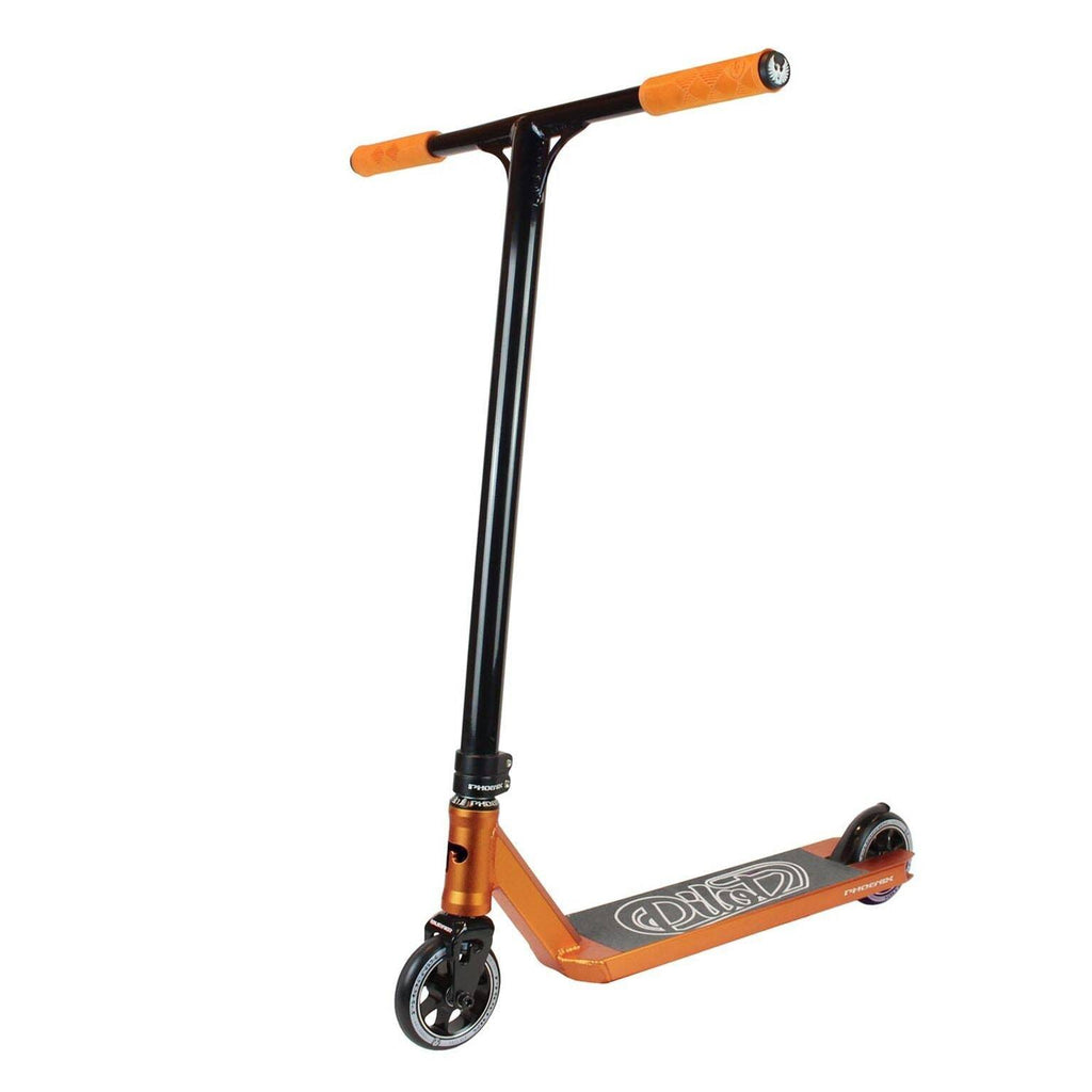 Orange Black Phoenix Stunt Scooter - Main View