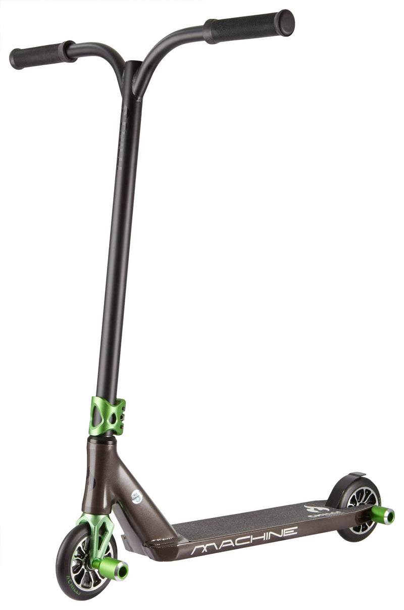 Black Green Chilli Pro Stunt Scooter - Main View