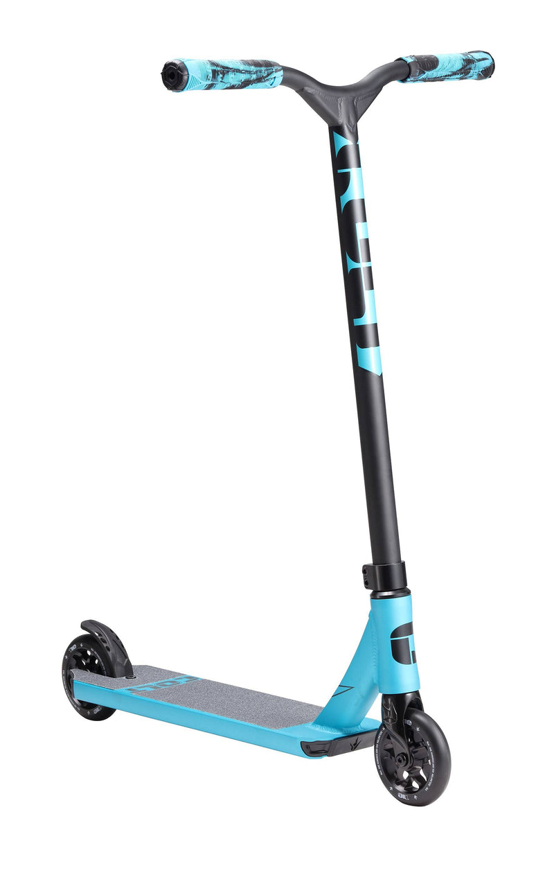 Black Blue Blunt Envy Stunt Scooter - Main View