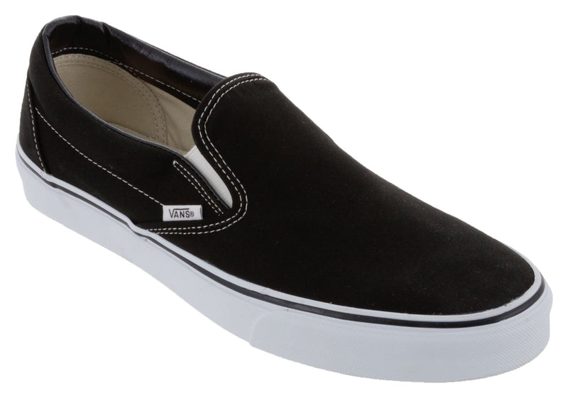 Vans Classic Slip-on Shoes - Black / White