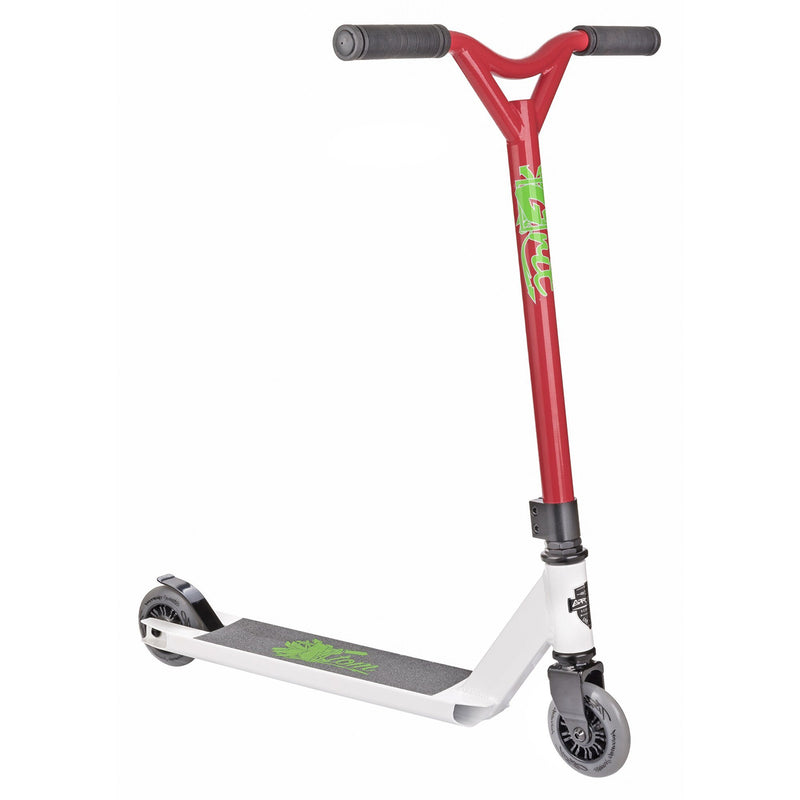 Grit 2018 Atom Stunt Scooter - White/Red
