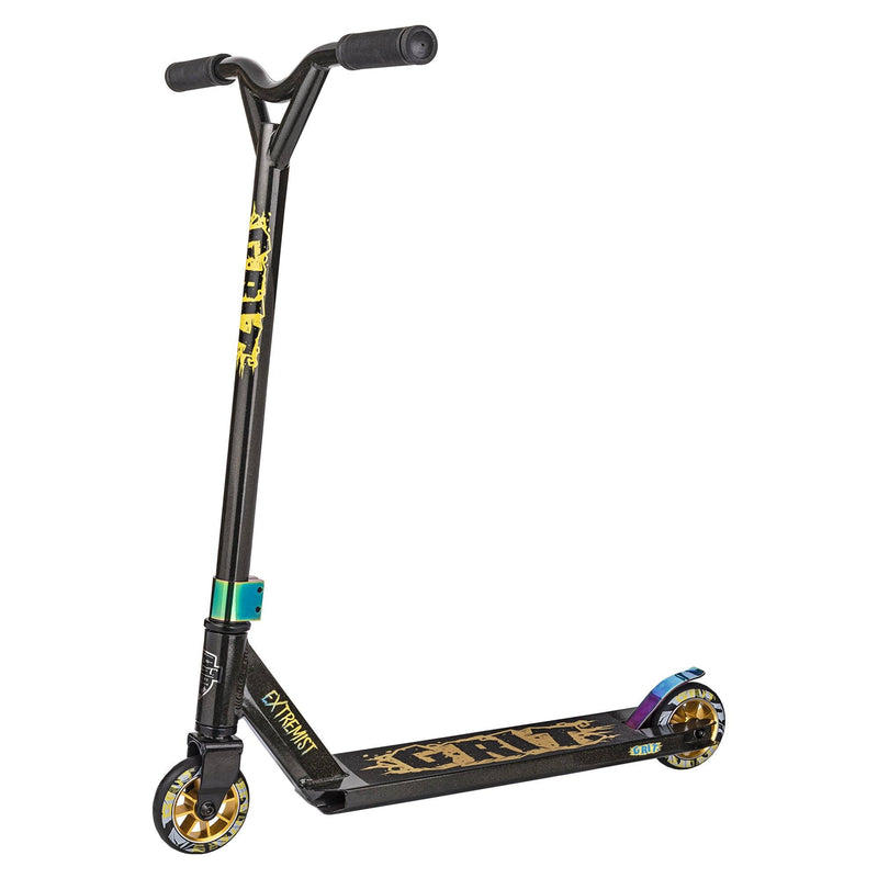 GRIT 2018 EXTREMIST STUNT SCOOTER - BLACK/GOLD METALLIC