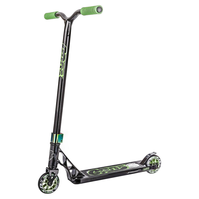 GRIT 2018 FLUXX STUNT SCOOTER - BLACK/GREEN QUAKE