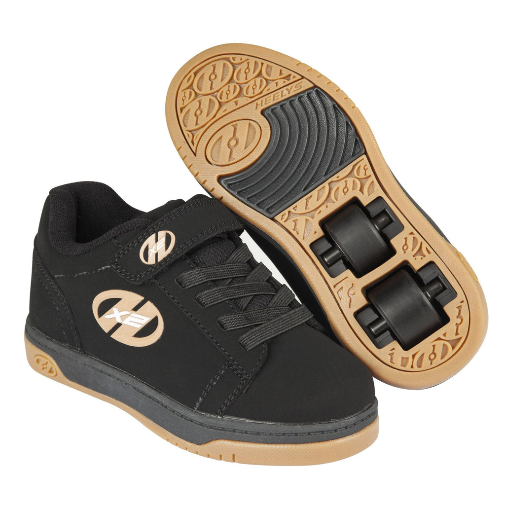 Boys Black Heelys Shoes - Main View
