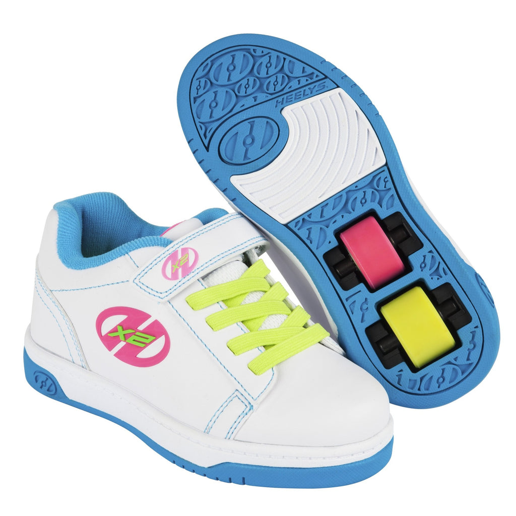 Multi Colour Girls Heelys Shoes - Main View