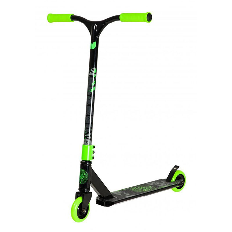 Blazer Pro Decay Series Blueprint Stunt Scooter - Black/Green