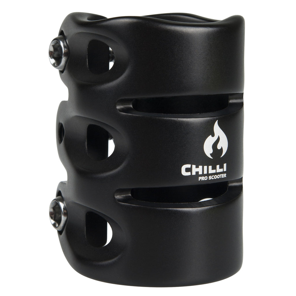 Chilli Pro IHC 3 Bolt Scooter Clamp - Black