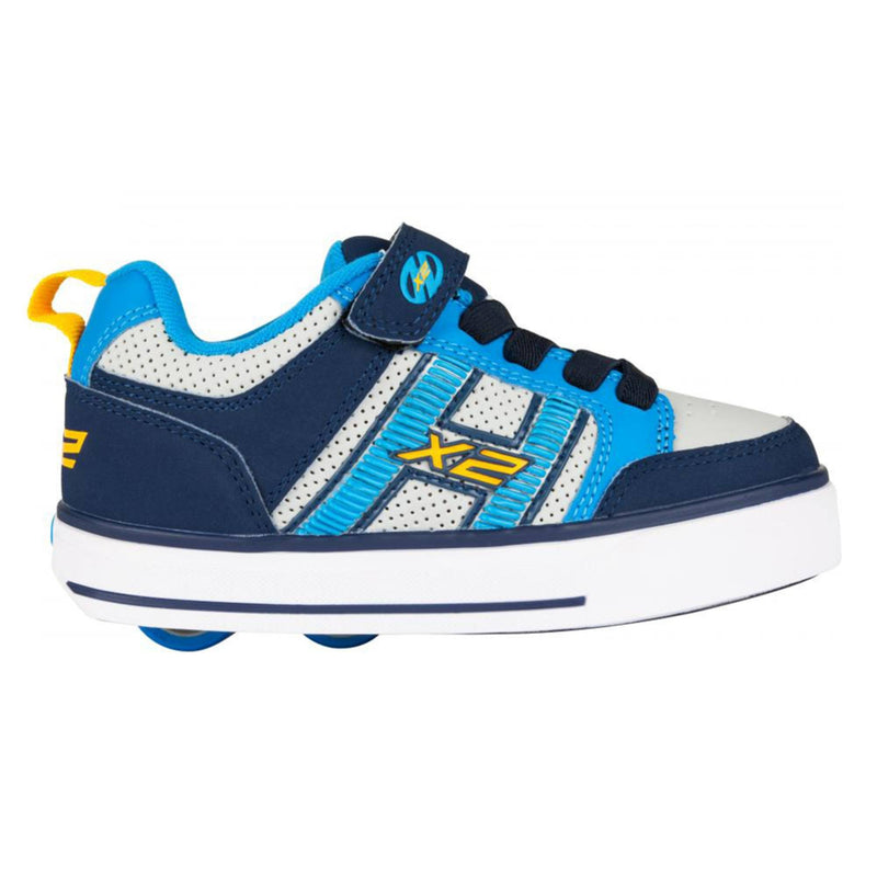 Blue Light Up Heelys Shoes - Side View