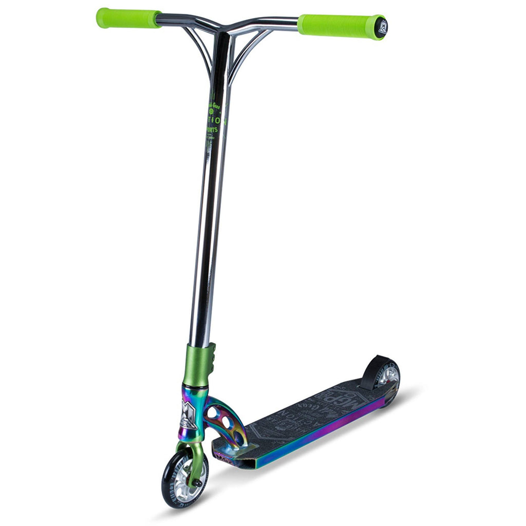 LIME NEOCHROME MGP STUNT SCOOTER - MAIN VIEW
