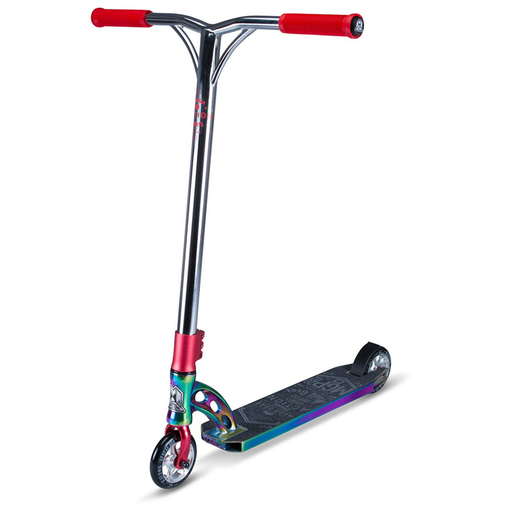 RED NEOCHROME MGP STUNT SCOOTER - MAIN VIEW