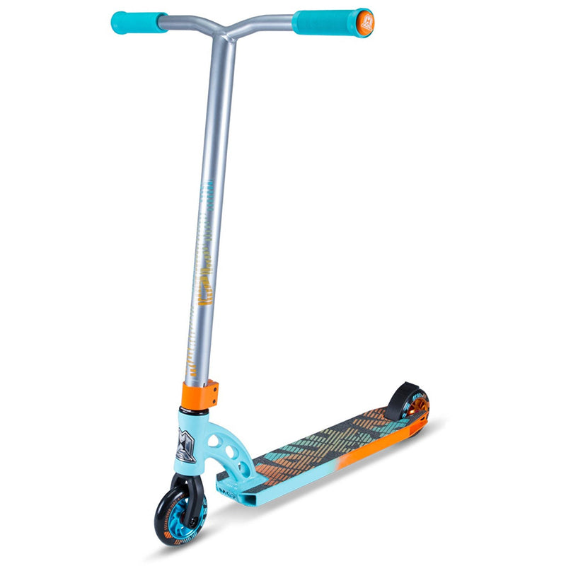 TEAL ORANGE MGP STUNT SCOOTER - MAIN VIEW