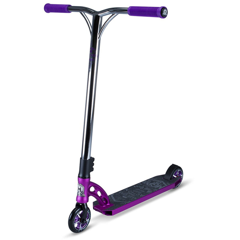 PURPLE CHROME MGP STUNT SCOOTER - MAIN VIEW