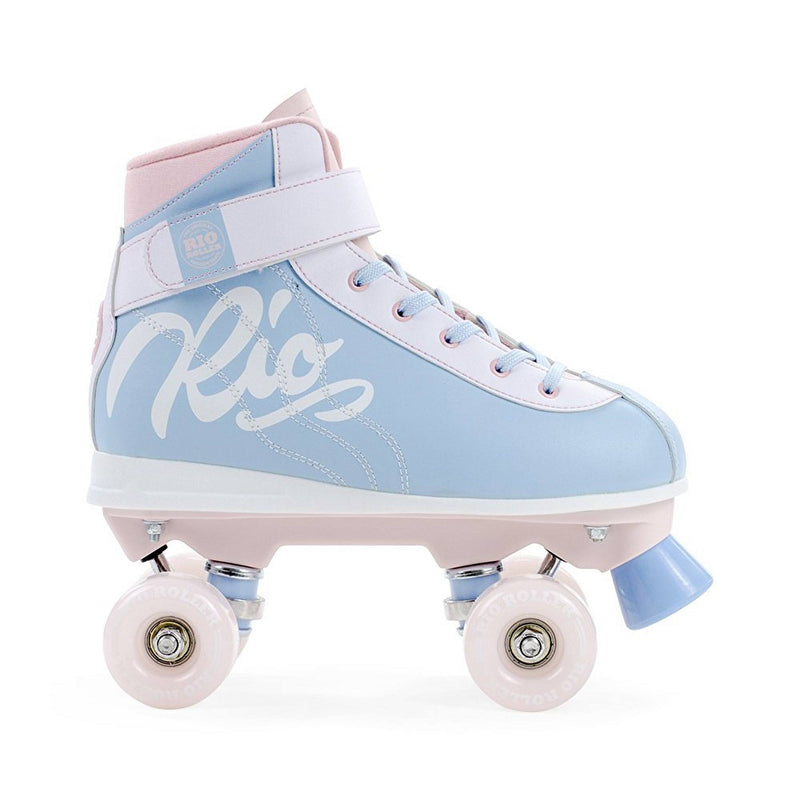 Rio Roller Milkshake Quad Roller Skates - Cotton Candy - Side