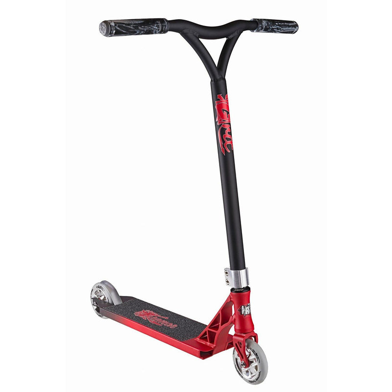 GRIT 2017 Tremor Stunt Scooter - Satin Red/Grey