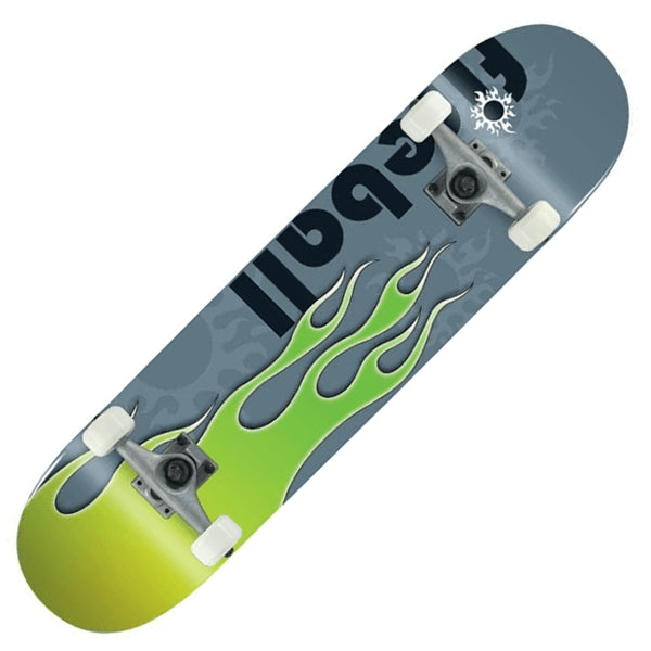 Voltage Classic Fireball Green Skateboard