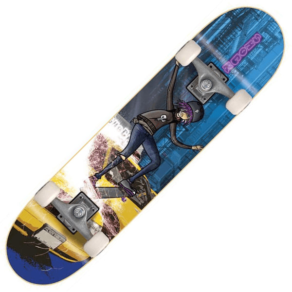 Kids Blue Skateboard - Main View