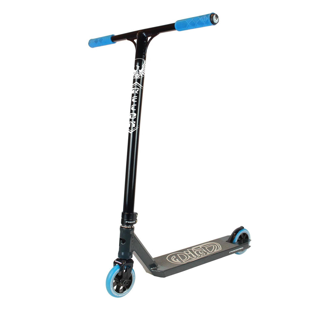 Blue Black Phoenix Stunt Scooter - Main View