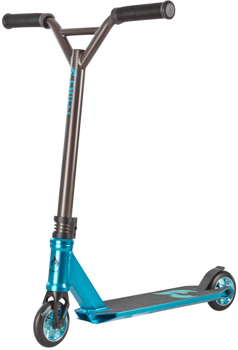 Blue Titanium Chilli Pro Stunt Scooter - Main View