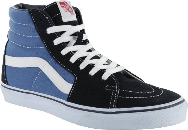 Vans SK8-Hi Navy Skate Shoes - Main View