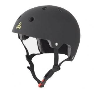 Black Triple 8 Skate Helmet - Main View