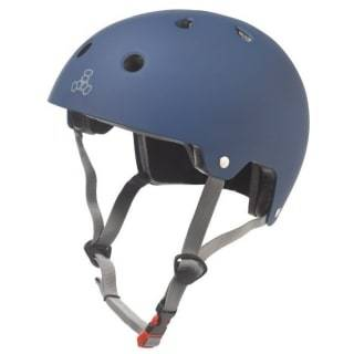Blue Triple 8 Skate Helmet - Main View