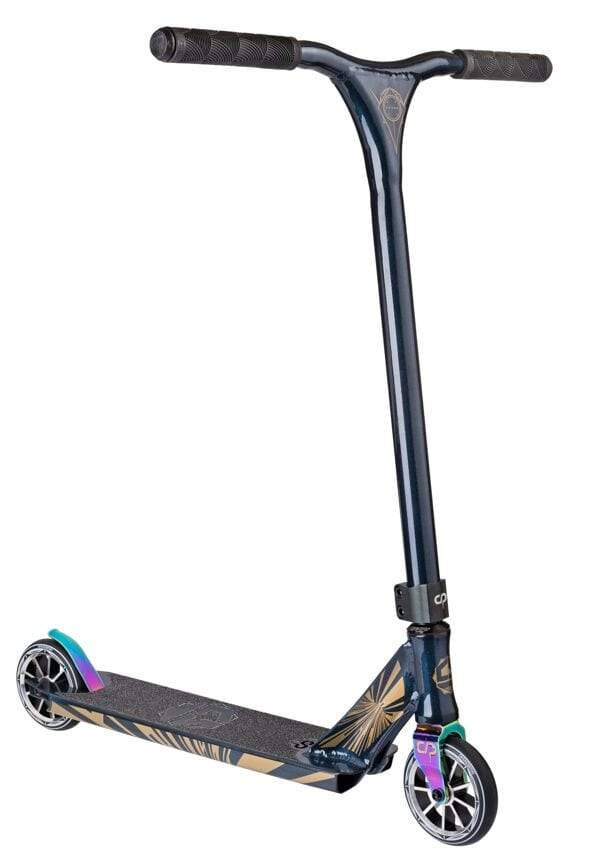 Dark Blue Metallic Crisp Stunt Scooter - Main View