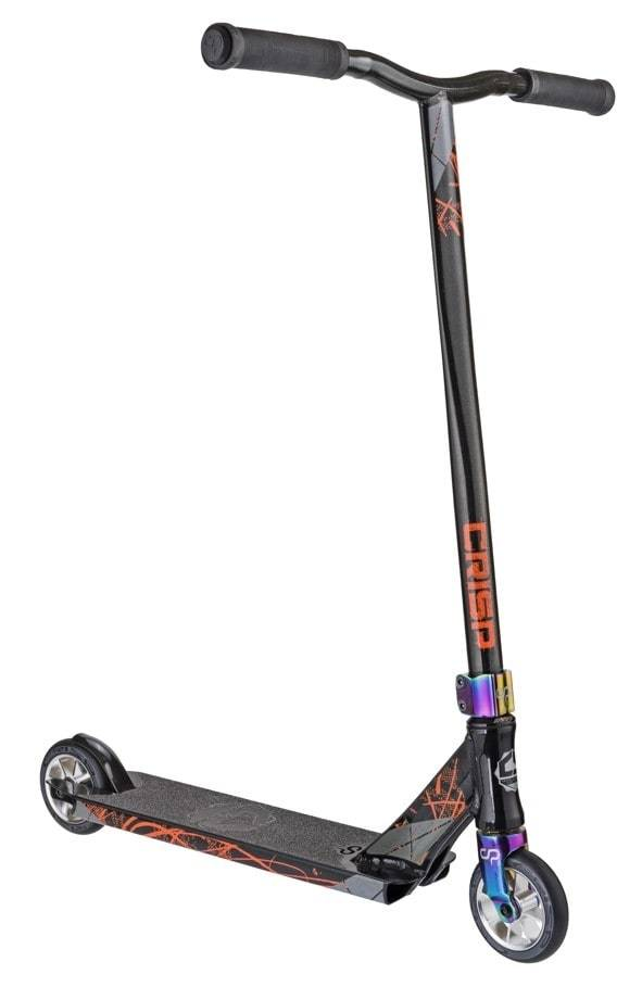 Black Neochrome Crisp Stunt Scooter - Main View