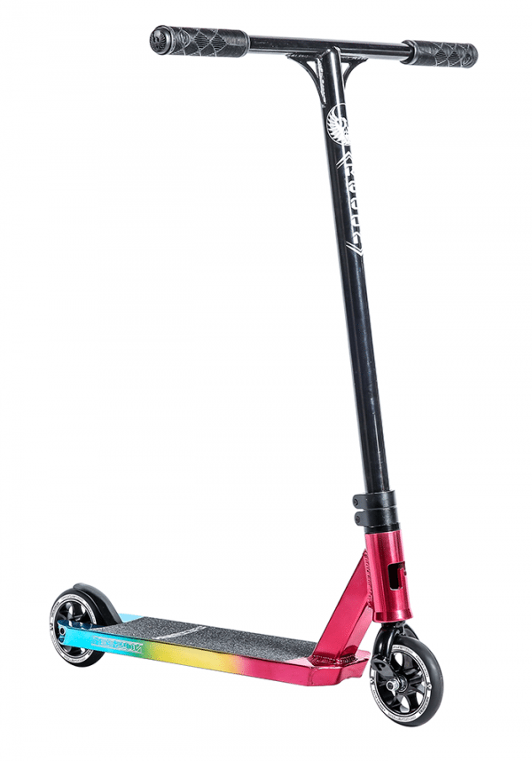 Red Yellow Blue Phoenix Stunt Scooter - Main View