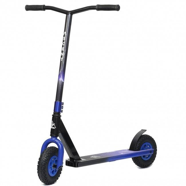 Blue Ascent Dirt Scooter - Main View