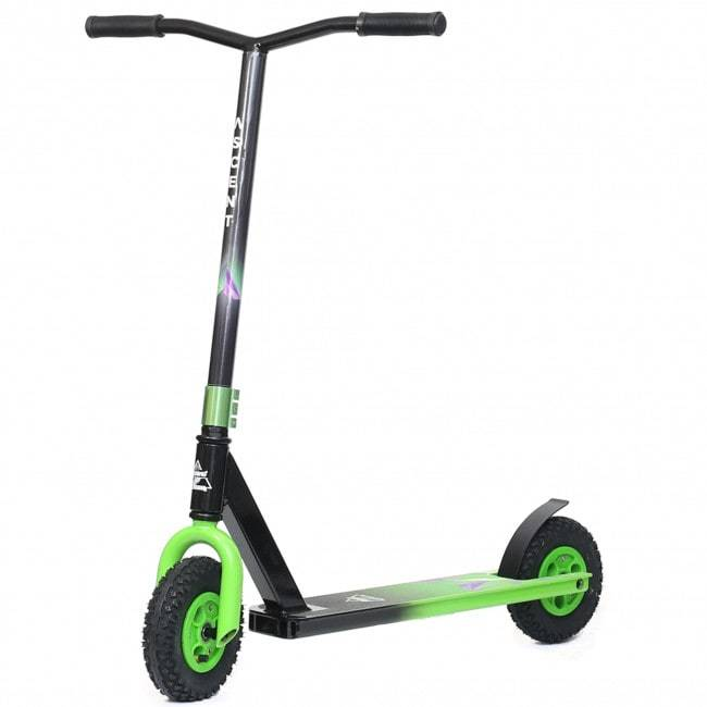 Green Ascent Dirt Scooter - Main View