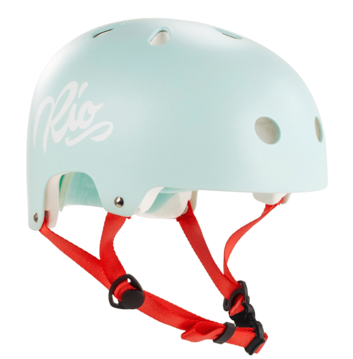 Teal Rio Roller Helmet - Main View