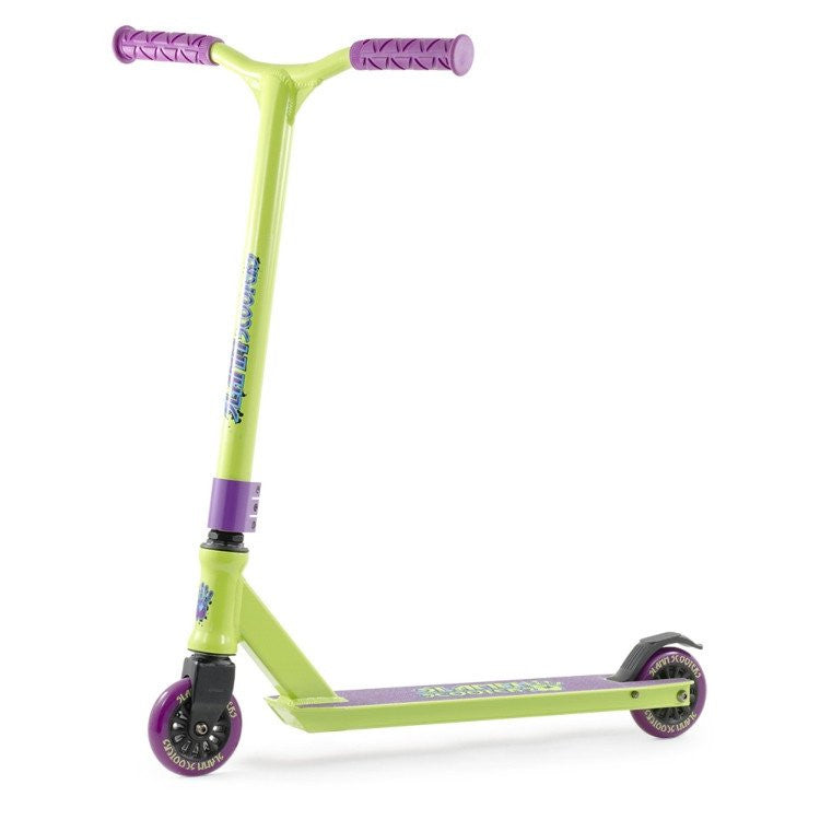 SLAMM TANTRUM IV STUNT SCOOTER - GREEN/PURPLE - Main View