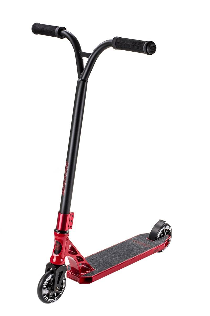 Black Red Slamm Stunt Scooter - Main View