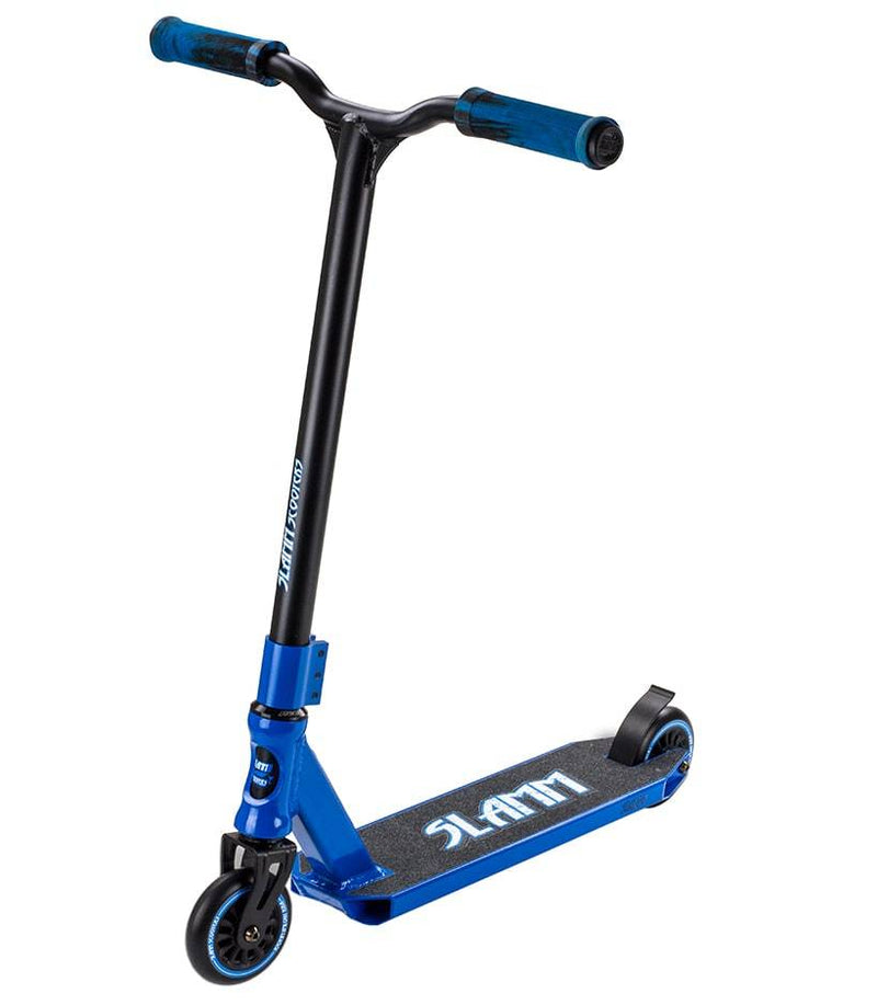 Blue Slamm Stunt Scooter - Main View