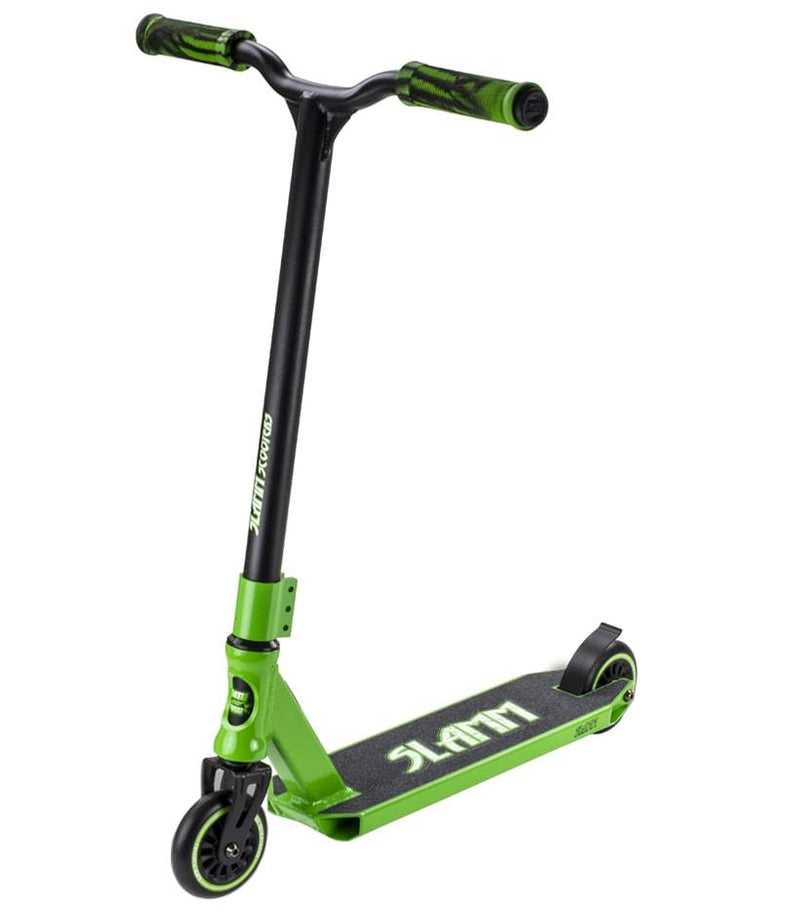 Green Slamm Stunt Scooter - Main View