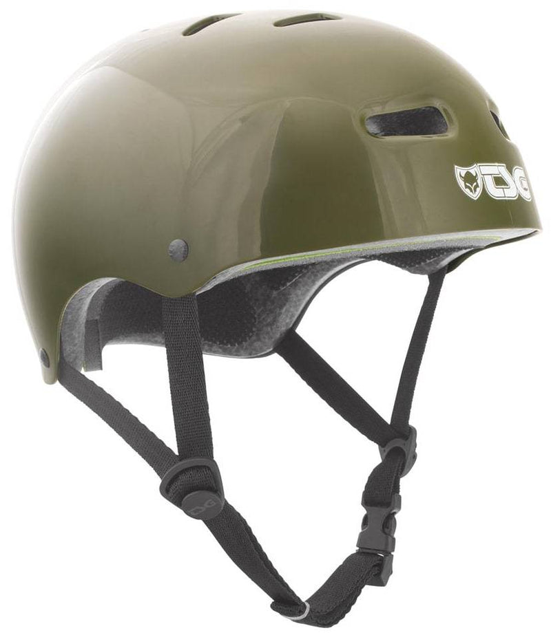 Olive Green TSG Skate Helmet - Main View