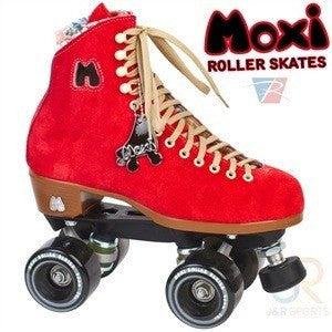 Moxi Poppy Red Roller Skates - Main View