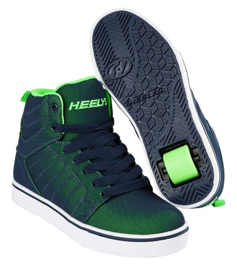 Heelys Blue Green One Wheel Heelys - Main View