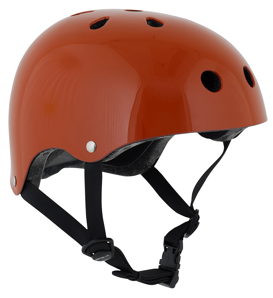 Gloss Red SFR Skate Helmet - Main View