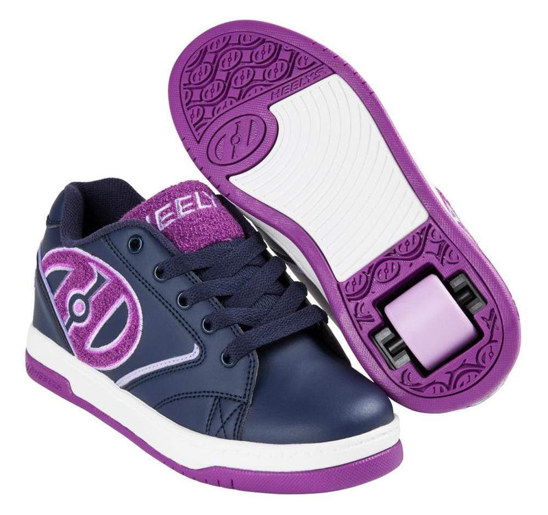 Heelys Propel Terry Blue Purple One Wheel Heelys - Main View