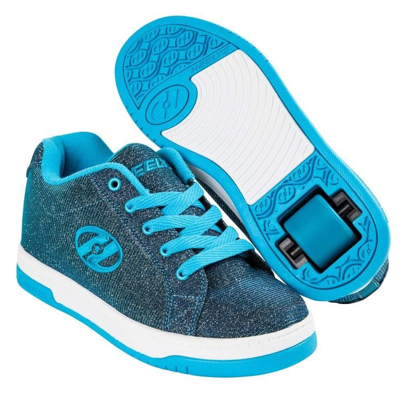 Heelys Split Pewqter Blue One Wheel Heelys - Main View