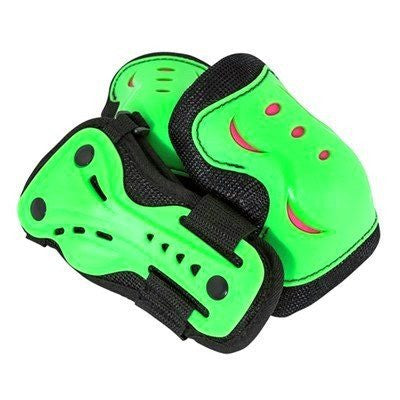 SFR Essentials Green Black Junior Triple Pad Set - Main View