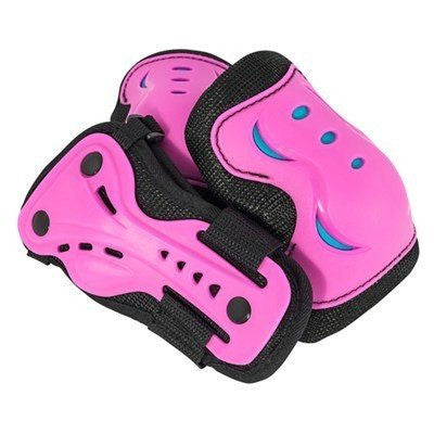 SFR Essentials Pink Blue Junior Triple Pad Set - Main View