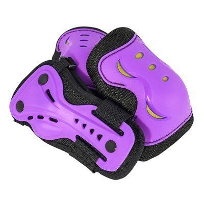 SFR Essentials Purple Yellow Junior Triple Pad Set - Main View