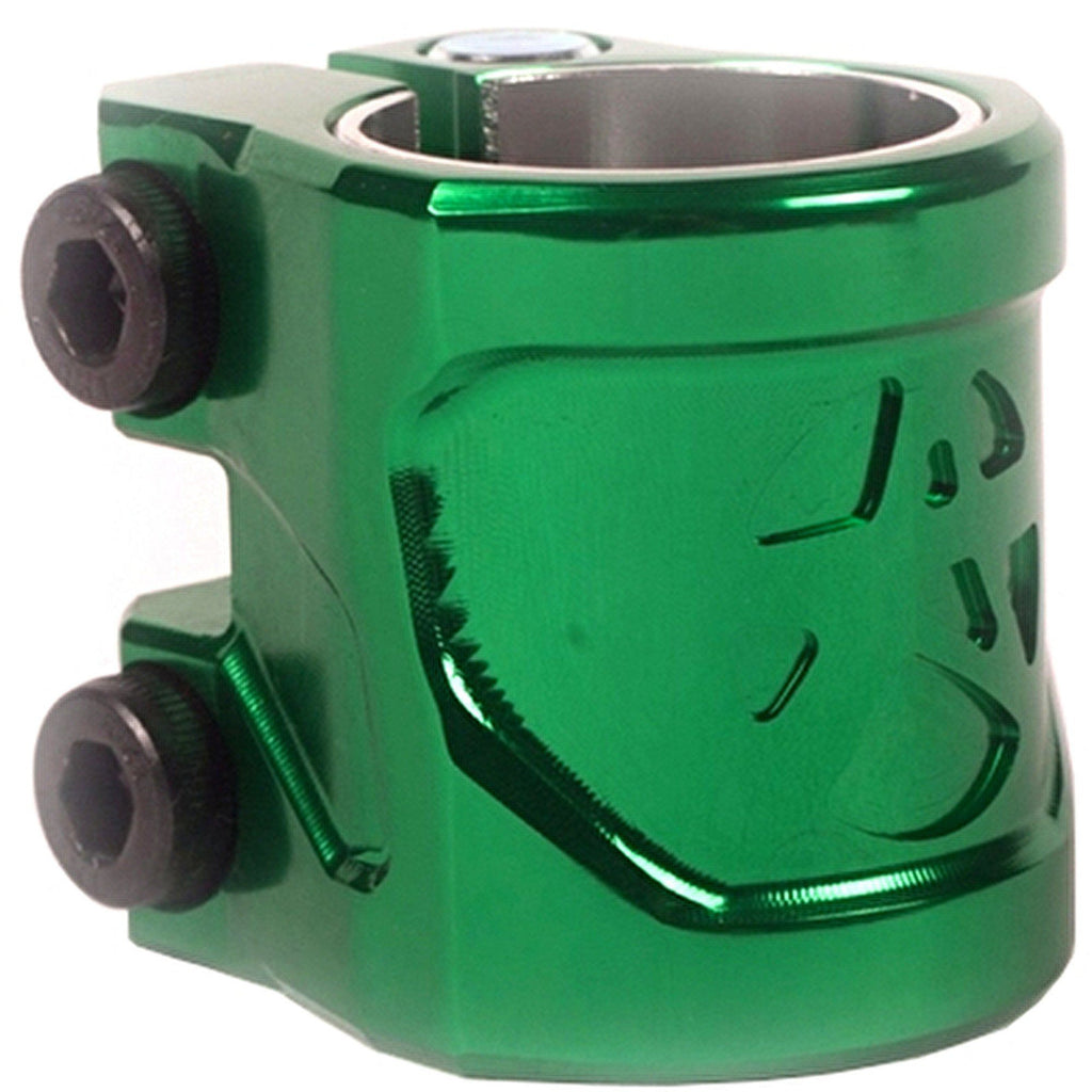 Addict Shield Double Scooter Clamp - Bottle Green