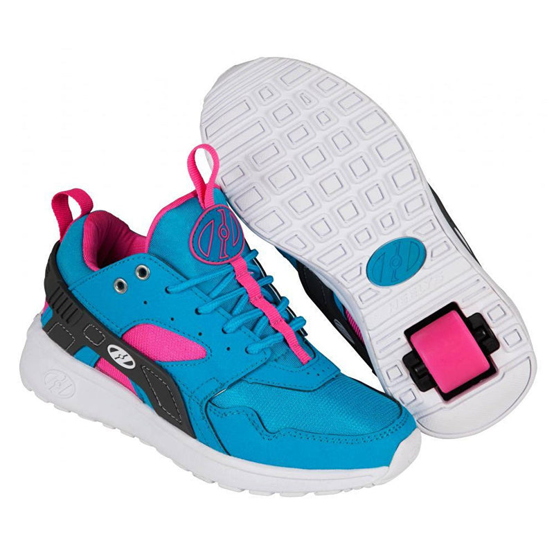 Heelys Force Aqua Grey Pink