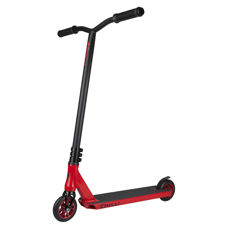 Chilli Pro Fire Reaper Complete Scooter in Red and Black - main image