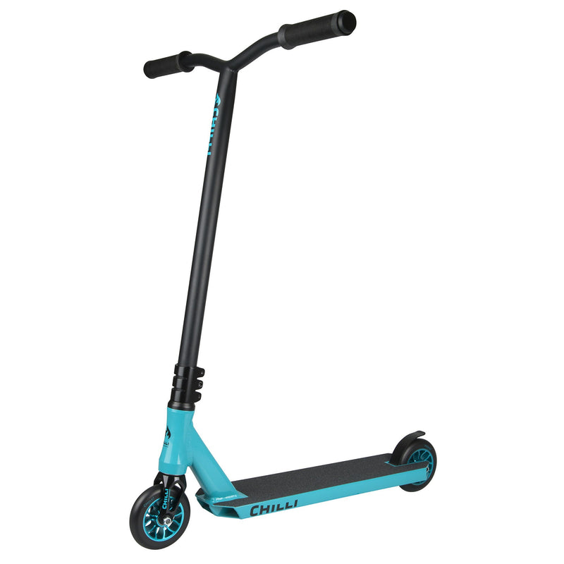 Chilli Pro Ice Reaper Complete Scooter in Blue - main image