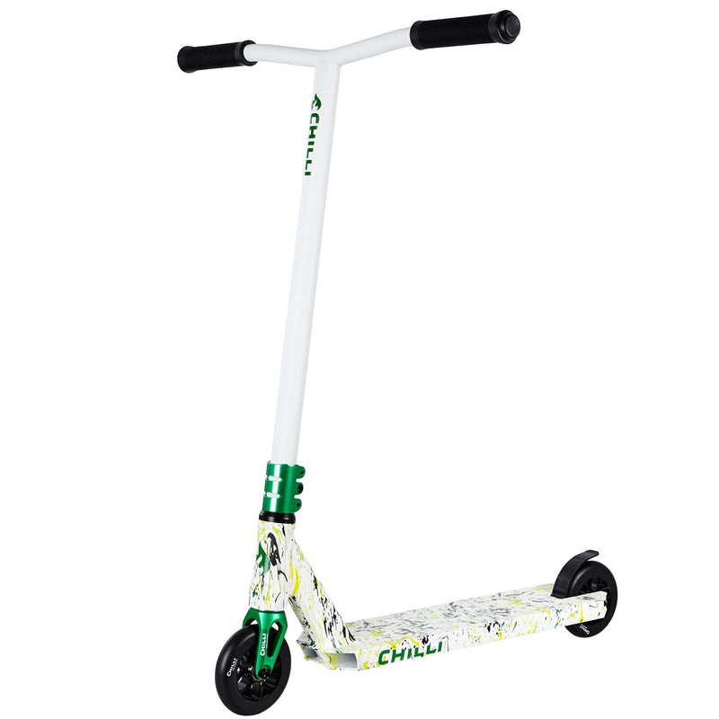 Chilli Pro Insane Reaper Complete Scooter White & Green - main image