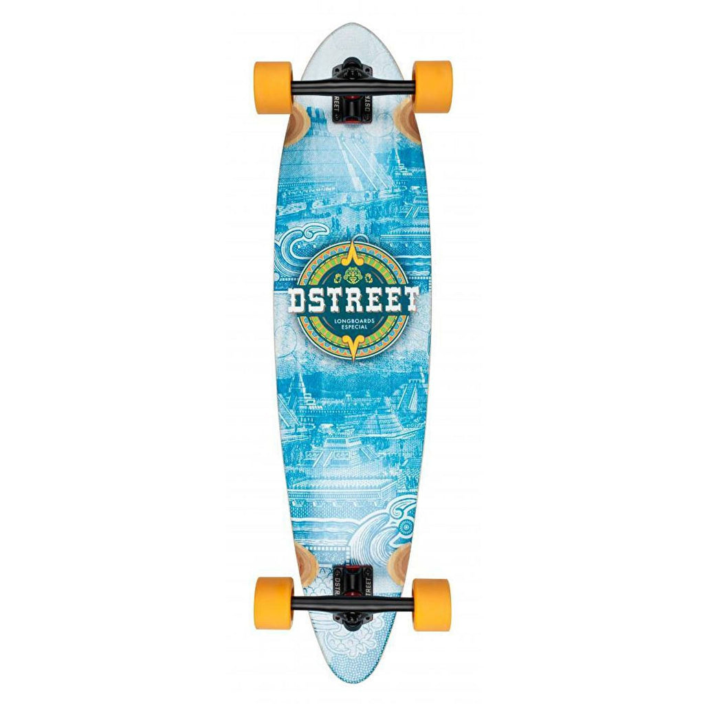 D-STREET BLUE LONGBOARD - MAIN VIEW